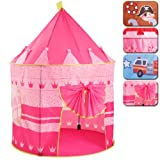Infantastic Kinderzelt Prinzessin Indoor-Outdoor-Spielhaus mit Pop-up Schloss Zelt