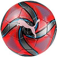 Puma Future Flare Mini Ball Ballon de Foot Mixte Enfant, Red Blast/Bleu Azur Black, Taille: M