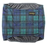 Glenndarcy Dog Pants Hundewindeln, bei Inkontinenz, wasserdicht, für Rüden, mit Bauchband, auch mit waschbaremPad erhältlich, Schwarz
