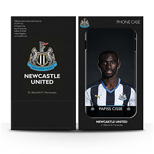 Offiziell Newcastle United FC Hülle / Matte Snap-On Case für Apple iPhone 6S / Pack 25pcs Muster / NUFC Fussballspieler 15/16 Kollektion Cissé