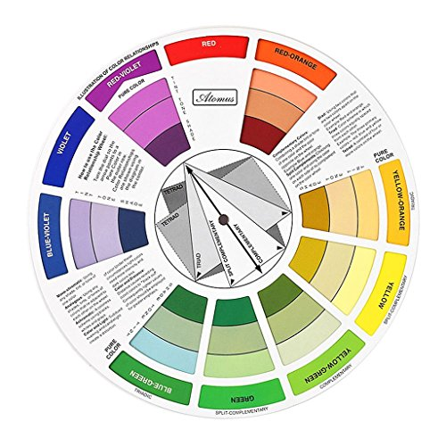 Gazechimp Farbmischhilfe - Color Mixing Wheel