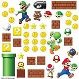 Nintendo - Pegatinas de Mario Bros (45 unidades)