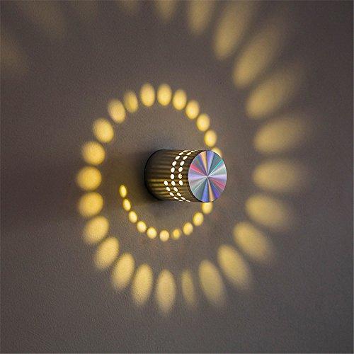 YU-K Chambre Simple Vintage wall lamp creative living salle à manger chambre Chambre Hôtel lumières lumières allée allée de chevet nuit nuit KTV Éclairage extérieur LED Appliques bougeoir, 55mm * 75mm