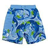 i play. 722169-639-44 Schwimmwindel- Badeshorts Pocket, 12-18 Monate, Turtle Batik, blue
