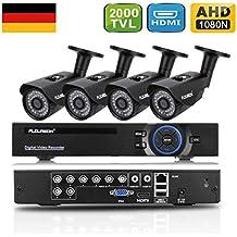 FLOUREON CCTV Kit Videosorveglianza ( H.264 8CH 1080N AHD DVR