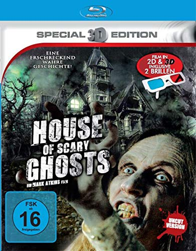 House of Scary Ghosts - Film in 3D inkl. Brillen [3D Blu-ray]