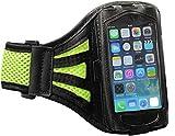 Sportarmband Schutzhülle LG X Power 2 Fitness Laufen Joggen Handytasche - Dealbude24 L Farbe Grün