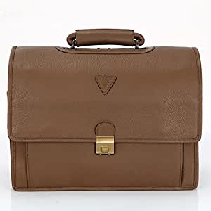 A To Z Leather Laptop Bag
