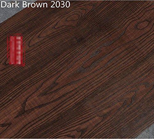 Preisvergleich Produktbild yancorp dunkelbraun Holz Muster Auto Aufkleber Marmor Counter Top Granit Film Vinyl selbstklebend peel-stick Tapete 61x 200,7cm, 61cmx2m