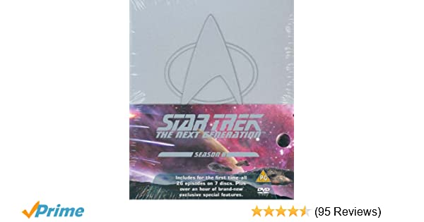 Star Trek: The Next Generation - Season 6 DVD 1990: Amazon.co.uk ...