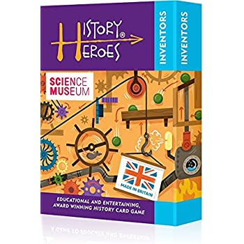 History Heroes: INVENTORS,a family card game about great inventors in history