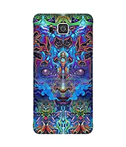 Electric Face Samsung Galaxy Alpha Case