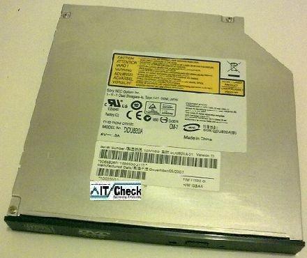 DDU820A DDU820 Sony NEC IDE Slimline DVD passend für HP Compaq Notebook und viele mehr ... Neu Abverkauf