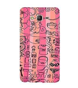 EPICCASE Fashion Case Mobile Back Case Cover For Samsung Galaxy On5 (Designer Case)