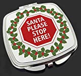 Advanta Group Taschenspiegel, Weihnachtsdekoration, mit Stopp-Schild