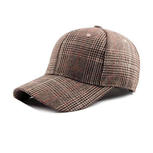 Dosige Sombrero de Cuadros para Mujer