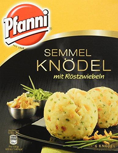 Pfanni Semmelknödel mit Röstzwiebeln 6 Stück, 7er Pack (7 x 200g)