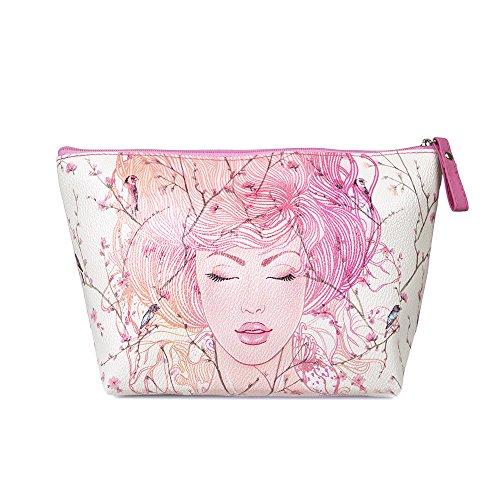 TaylorHe-Make-up-Bag-impermeable-Bolsa-de-maquillaje-Bolsas-de-aseo-Bolsa-para-lavar