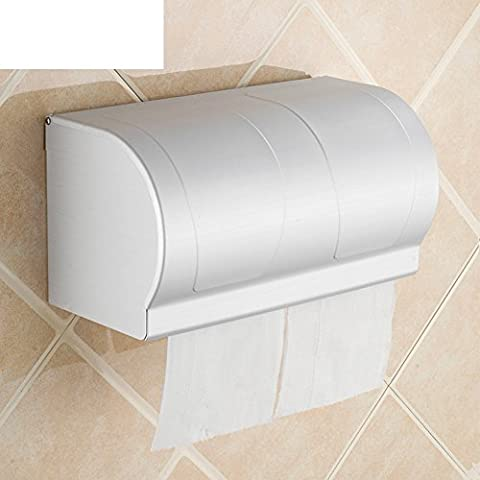 HCP Space Series waterproof aluminum hand tray/Toilet paper holder/tissue box