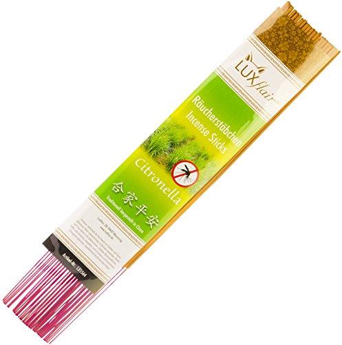 Insektenschutz-stick (XL Anti-Mücken Räucherstäbchen Citronella Duft (Chinesische Räucherstäbchen, ca. 30cm Höhe))