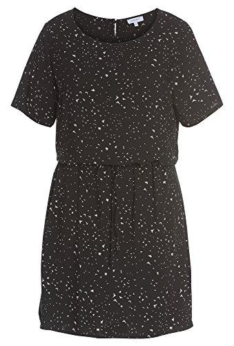 PEPPERMINT Plus Size - Viskose Kleid - Damen curvy,Große Größen,Frauen,kurz,Sommer,gemustert (Size Mint Kleid Plus)