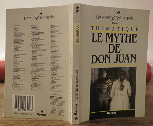 Le mythe de Dom Juan