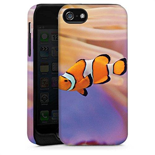 Apple iPhone 3Gs Housse étui coque protection Poisson anémone Poisson clown Poisson Némo Cas Tough brillant