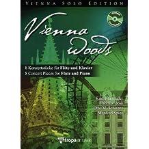 Vienna Woods, für Flöte und Klavier, m. Audio-CD