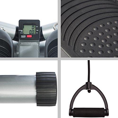 Ultrasport Swing Stepper, Twister, Ministepper inkl. Trainingsbändern - 5