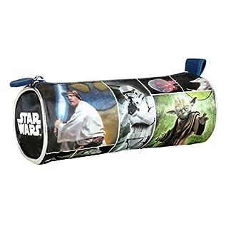 Star Wars – Portatodo cilíndrico, Color Gris (Cerdá 2100000530)