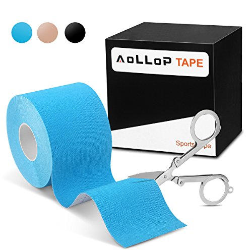 1 Rollen Kinesiologie Tape,Aollop Physio Tape sports Tape elastische Bandage