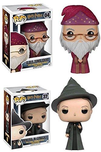 Funko POP! Harry Potter: Albus Dumbledore + Minerva McGonagall - Vinyl Set NEW 6
