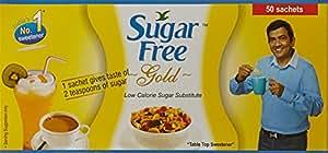 Sugar Free Gold Sachet - 0.75 g (Pack of 50 Sachets)
