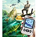 Fish And Depth Detector, Wireless Charging Fish Finder, Waterproof Color Screen Accuracy Intelligent Transducer Boat Kayak Bait Canoe Lake Sea Fishing Accessories For Amateur, Professional Fishermen , from YRODYU