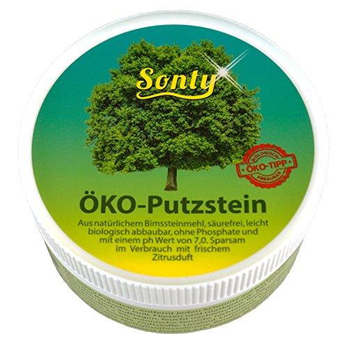 Sonty 1 Stück ÖKO Putzstein 400g, Putzpaste, Universalreiniger, Reinigungsstein - Durch Duftende Reinigungsmittel