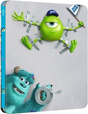 Monsters University : Zavvi Exclusive Limited Edition Steelbook (The Pixar
