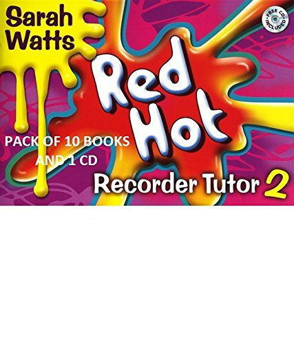 Red Hot Recorder Tutor Book 2 10 Pack with One CD