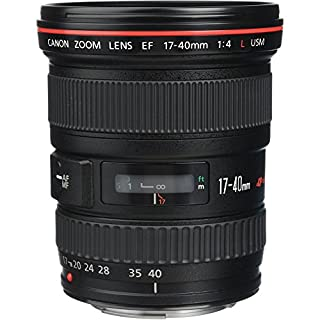 Canon EF 17-40mm F/4L USM - Objetivo para Canon (Distancia Focal 17-40mm, Apertura f/4-22, Zoom óptico 2.4X,diámetro: 77mm) Negro (B0000C4GAM) | Amazon price tracker / tracking, Amazon price history charts, Amazon price watches, Amazon price drop alerts