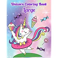 Unicorn Coloring Book Large: Activity kids Books for smile and happiness