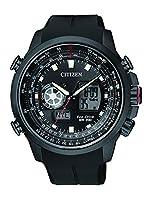 Citizen Promaster Sky - Reloj de cuarzo para hombre, correa de goma color negro de Citizen
