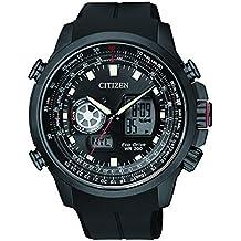 Citizen Promaster Sky - Reloj de cuarzo para hombre, correa de goma color negro