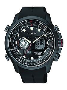 Citizen Promaster Sky Reloj de cuarzo para hombre correa de goma color negro
