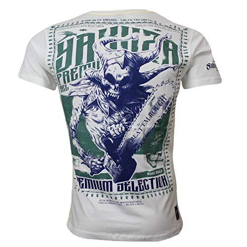 Yakuza Premium Herren T-Shirt 2612 weiß, XL