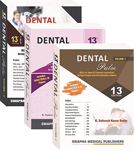 Dental Pulse (Vol- 1,2 & 3), 13th edition 2019