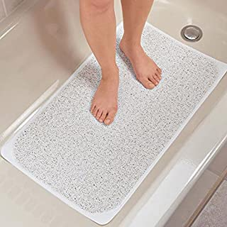 A&B HOMEWARE® High Quality Non Slip Hydro Rug - Carpet Mat Hygiene Mould Stain Resistant For Shower Bath Water Area Large 75 x 44cm