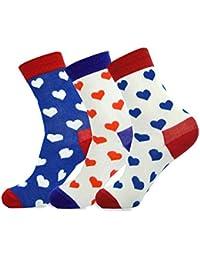 Jasmine Silk 3 Pairs Supersoft Ladies 100% Bamboo Socks Thermal Sock 3-7