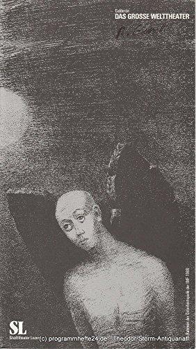 Programmheft Das grosse Welttheater von Pedro Calderon de la Barca. Spielzeit 1987 / 88 Nr. 13 (Pedro Kostüme)