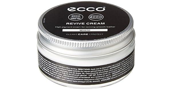 Ecco Revive Cream Schuhcreme Weiß 50 ml: : Schuhe