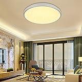 VINGO 16W LED Deckenleuchte Warmweiß Sternenhimmel Wohnzimmerlampe Badleuchte Küchenleuchte Innenleuchte Wandleuchte Wohnzimmer Badezimmer Schlafzimmer Schlafzimmerleuchte Energiespar