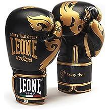 Leone 1947 GN031 Guantes de Boxeo, Unisex – Adulto, Negro, 14OZ